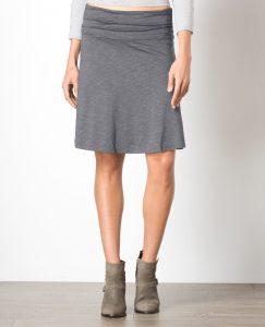charcoal skirt