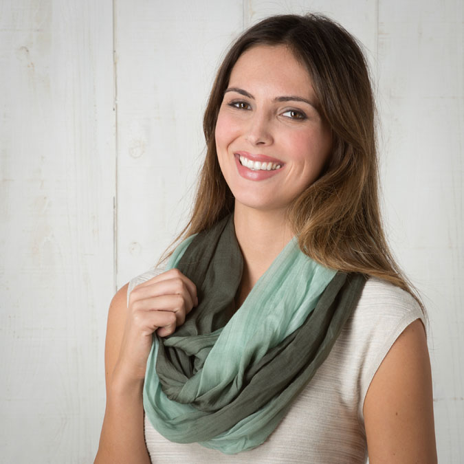 olive scarf