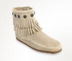 stone fringe boot
