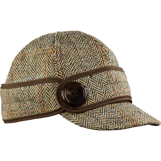 ca854df77f9 ... Stormy Kromer Womens Ida Kromer Cap Image  watch c6346 4fc8c The Button  Up Cap with Harris Tweed ...