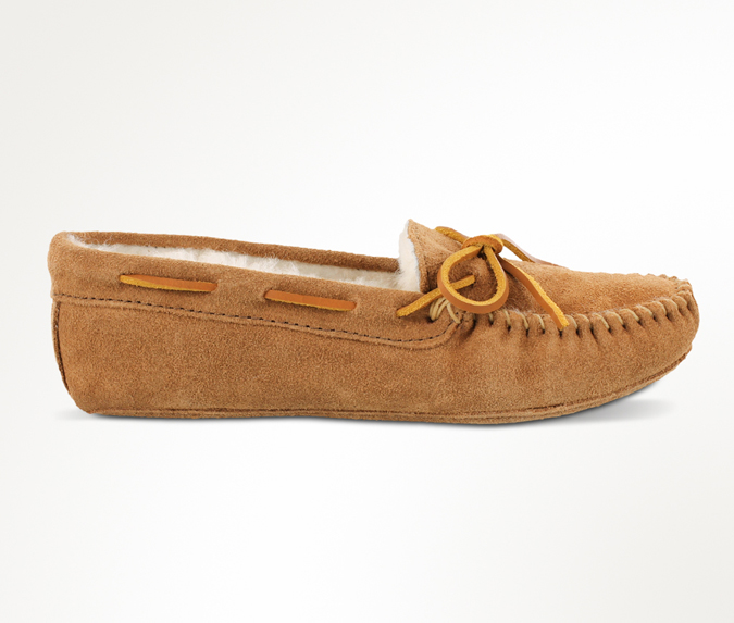 Women's Sheepskin Softsole Moc