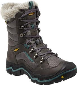 gray boot up at