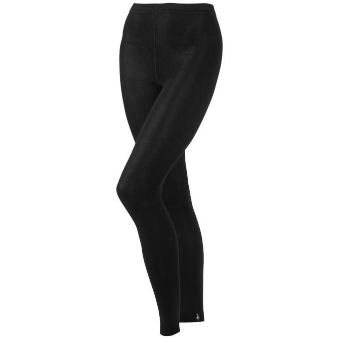 black footless leggings