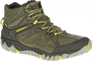 green and yellow boot