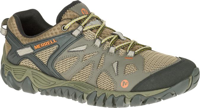 tan and grey shoe