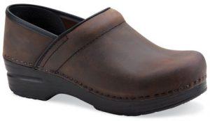 brown clog
