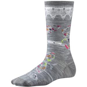 grey butterfly sock