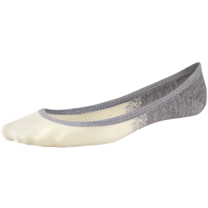 grey and white sock