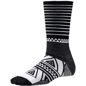 black and white sock