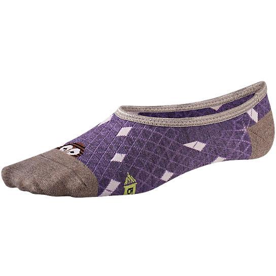 purple owl sock