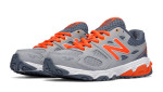 orange and grey shoes