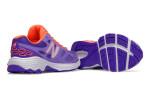 purple and orange shoes