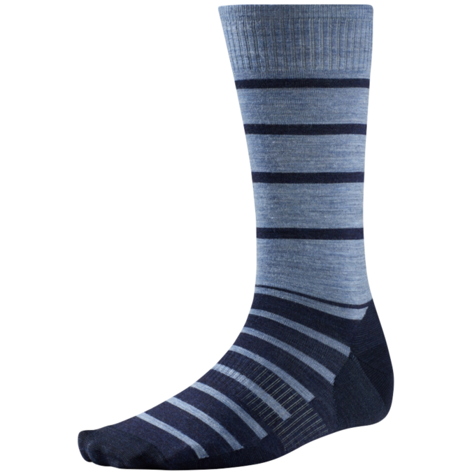 navy striped sock