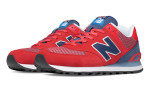 RED AND BLUE SHOE