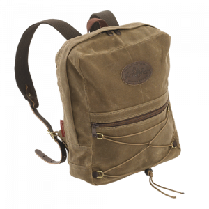 brown day pack