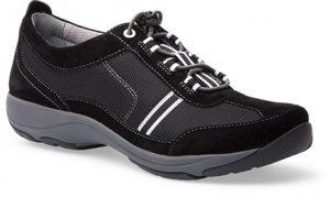 black shoe
