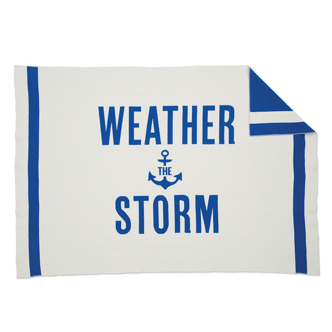 weather the storm blanket
