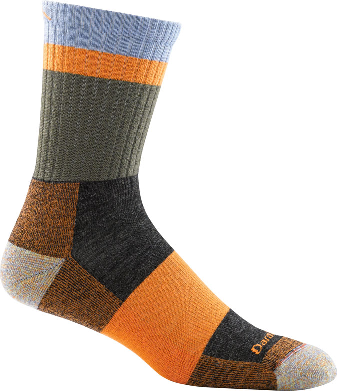 orange multi sock