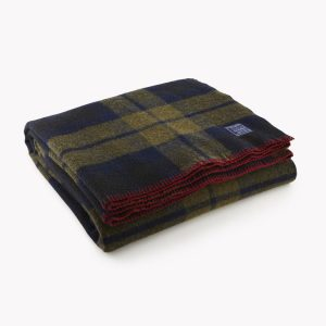 shadow plaid blanket