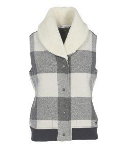 wool cream vest