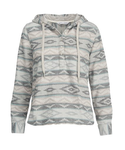 jacquard hoodie