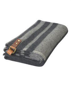 gray poncho
