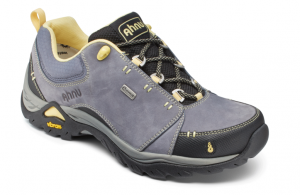 grey hiking shoe