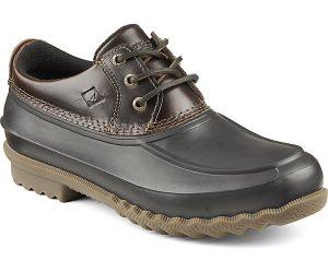 brown duck shoe