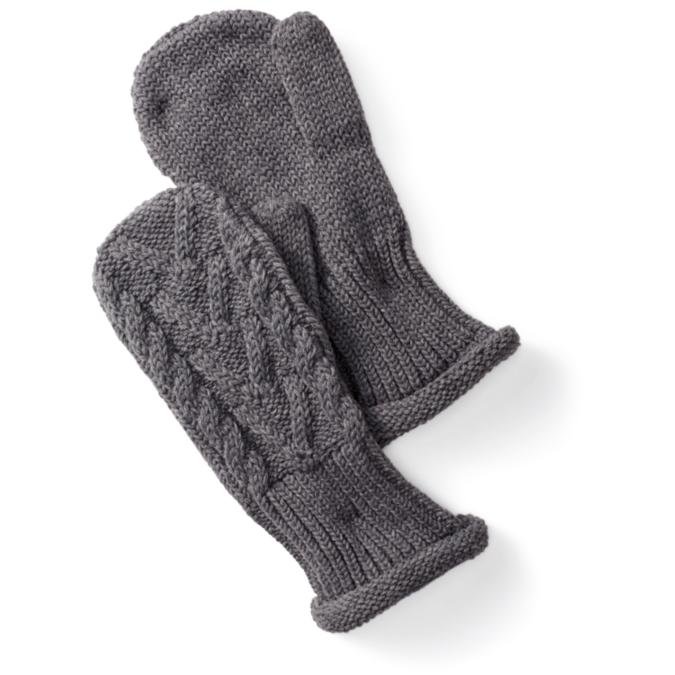 gray mitten