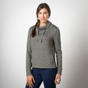 gray hoodie