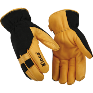 black and tan glove