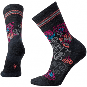black floral socks