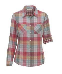 multi plaid shirt