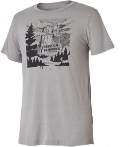 gray tree t-shirt