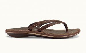 dark java sandal