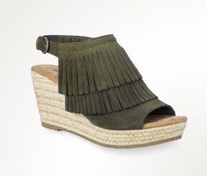 loden green sandal