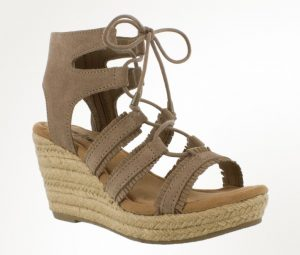 taupe sandal