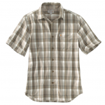 Bernt Olive Plaid Shirt