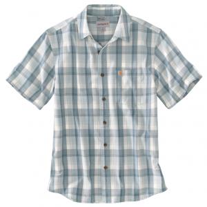 Mineral Blue Plaid Shirt
