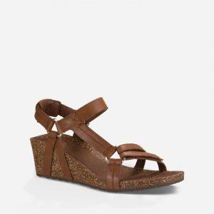 brown sandal