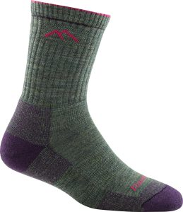 moss heather sock