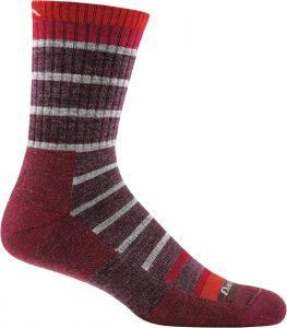 maroon sock