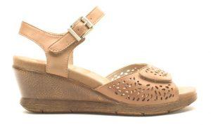 tan sandal