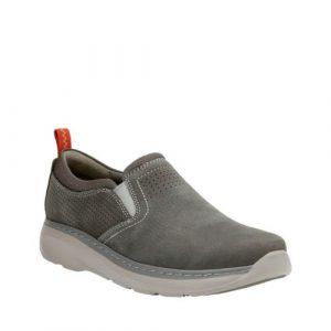 grey slip on