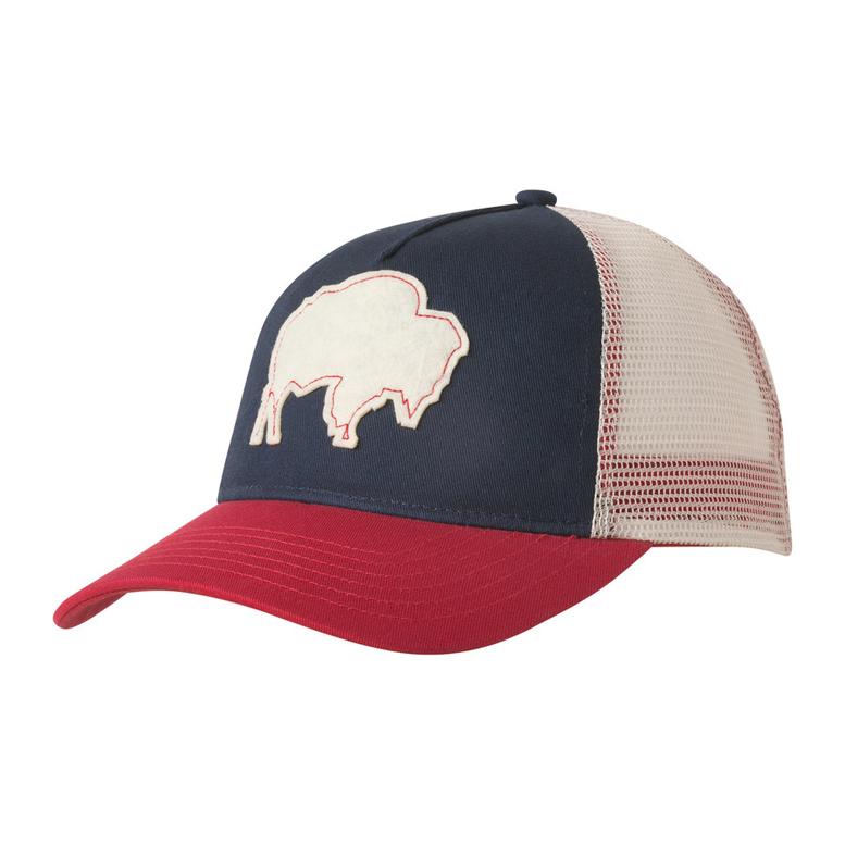 bison trucker cap