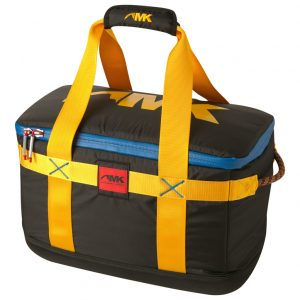 black and yellow cooler