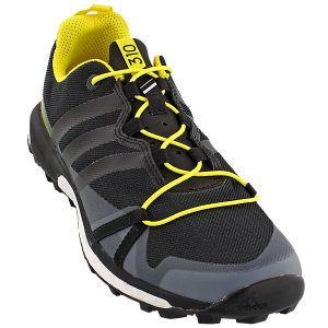 BLACK AND YELLOW SHOE