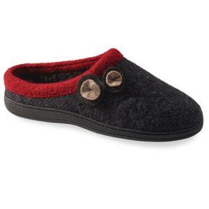 charcoal slipper