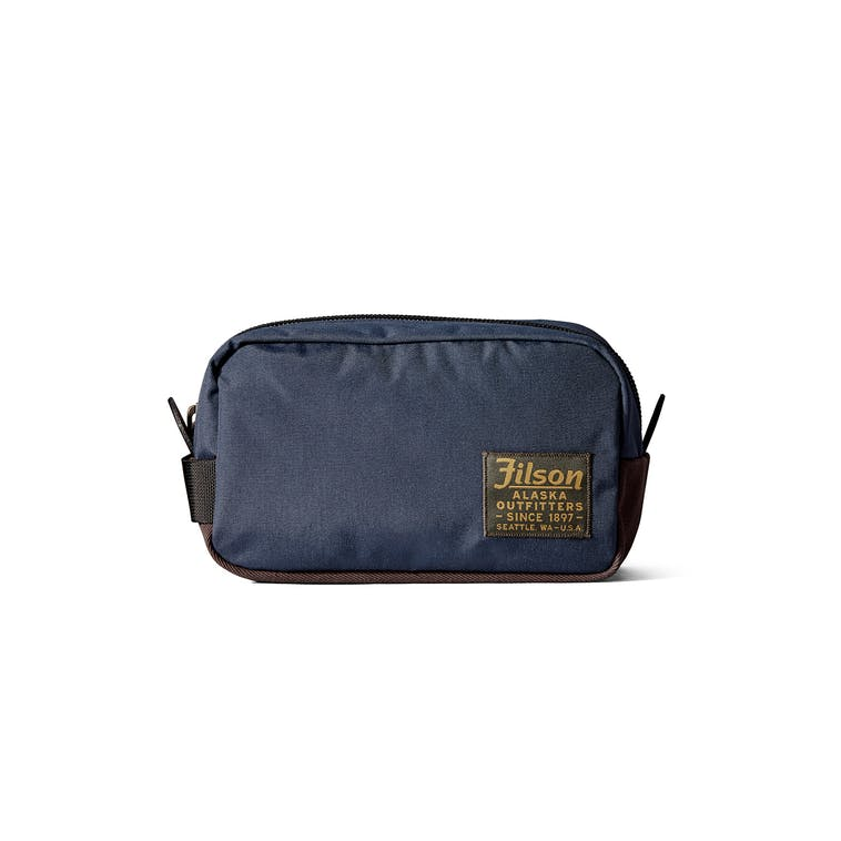 navy travel bag