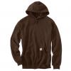 dark brown hooded sweatshirt